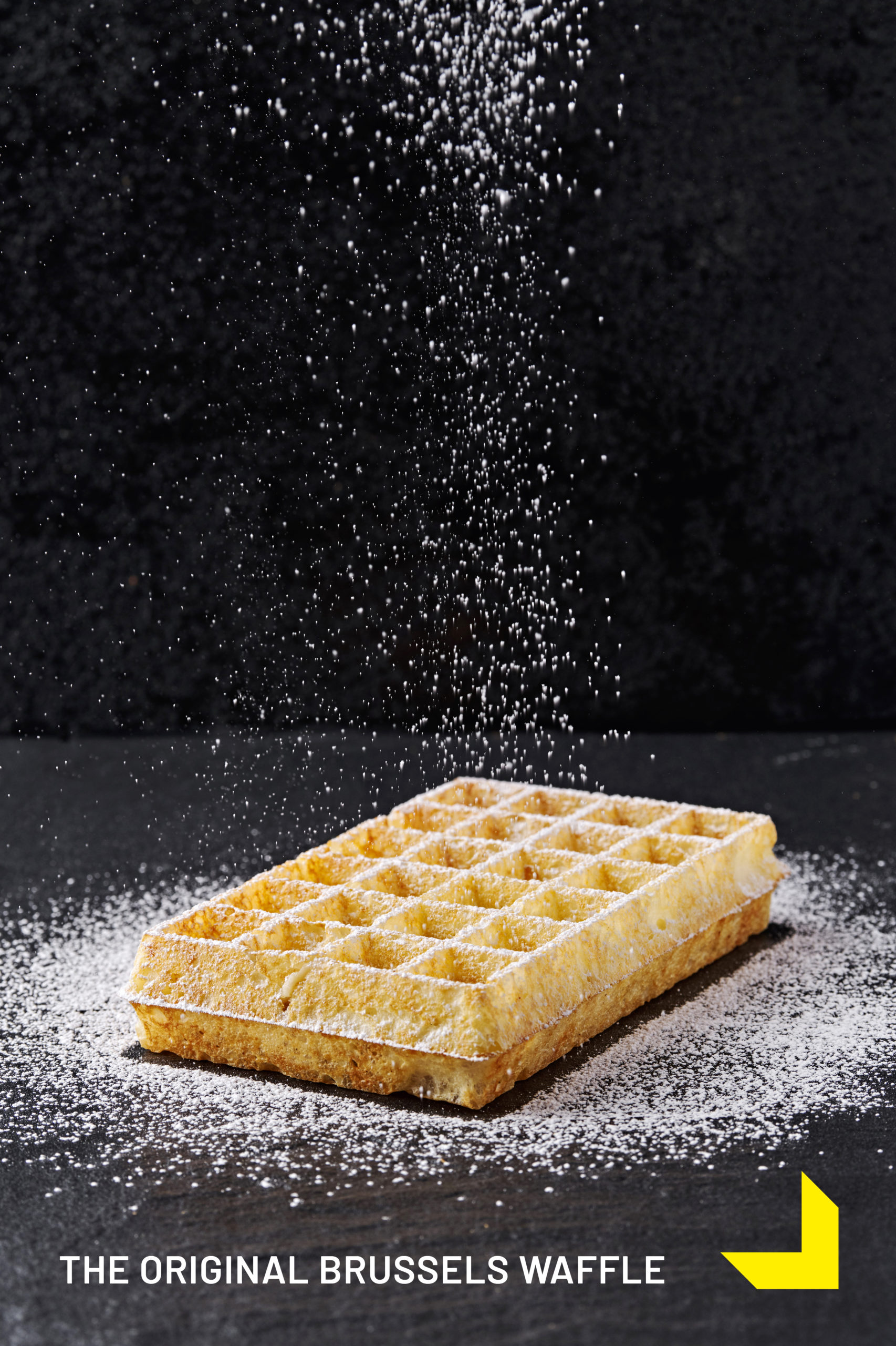 THE ORIGINAL BRUSSELS WAFFLE
