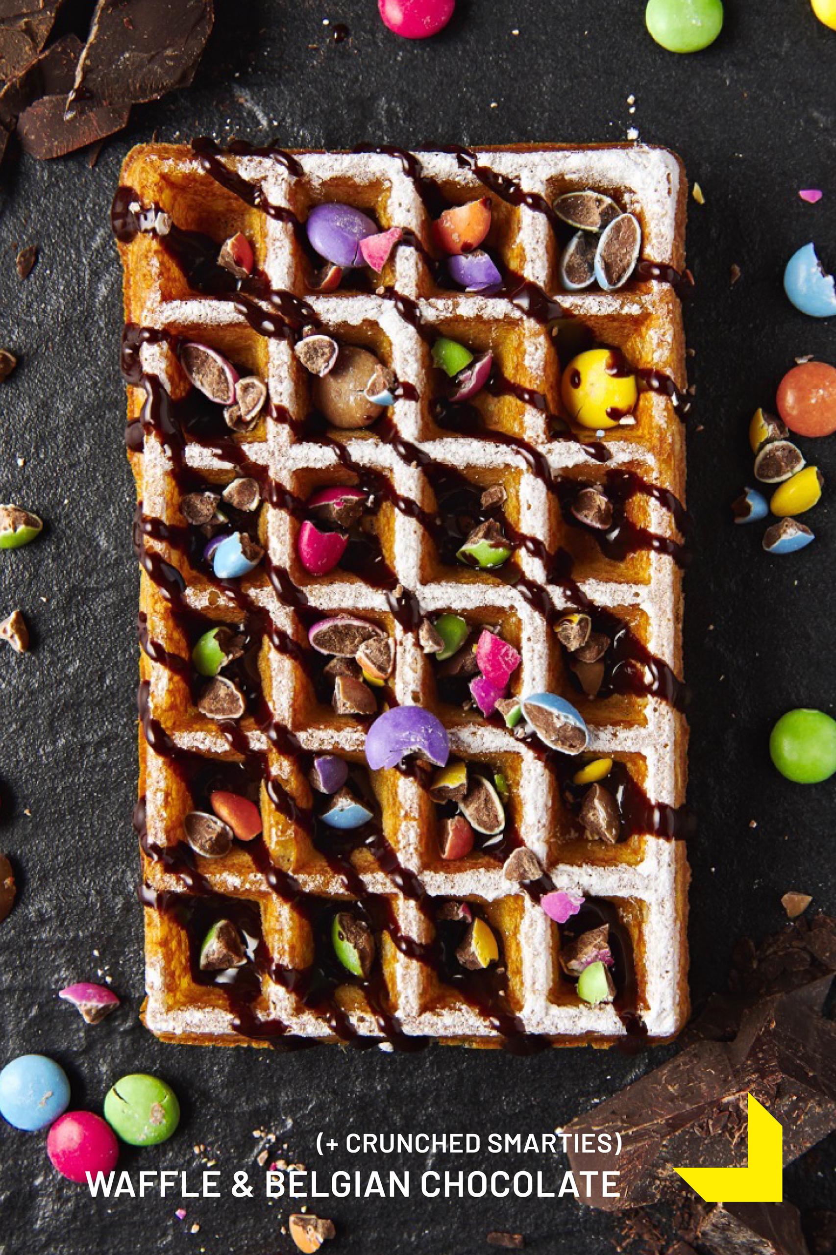 WAFFLE & BELGIAN CHOCOLATE